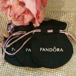 🍓Pandora Gift pouch bundle of 3🍉